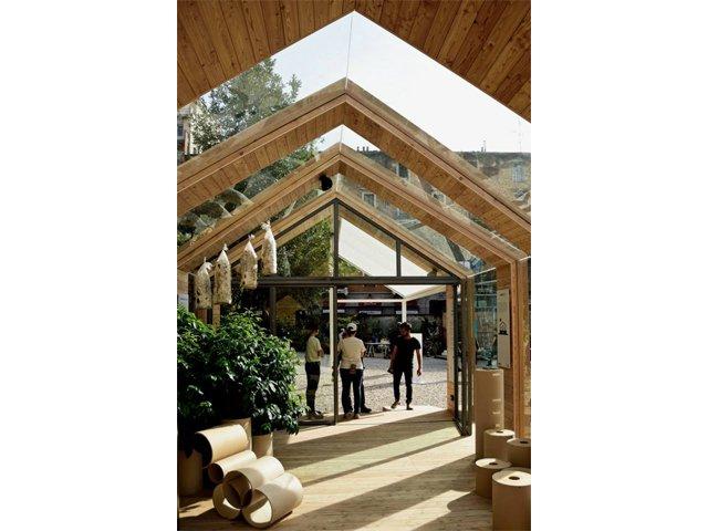 Sustainability hub for La cascina cuccagna milano